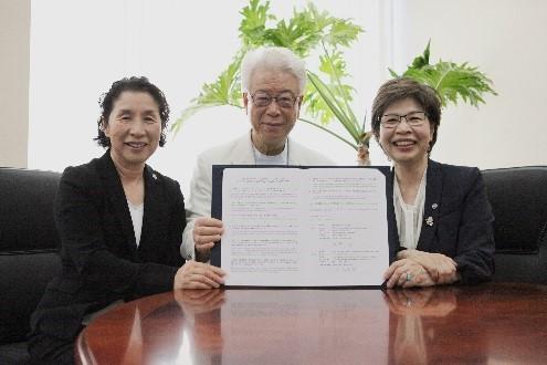 Lễ ký kết Biên bản ghi nhớ THUV - Bệnh viện Kurosawa (Nhật Bản)